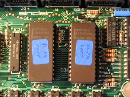 Sinclair QL EPROMs firmware version PM